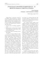 prikaz prve stranice dokumenta ČITANJE KAO ISHODIŠNA KOMPETENCIJA – IZ DRUŠTVA ZNANJA U DRUŠTVO ČITANJA