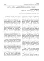 prikaz prve stranice dokumenta NOVO RUHO BABUKIĆEVE ILIRSKE SLOVNICE