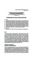 prikaz prve stranice dokumenta Multidisciplinarno poimanje tjelesnog vježbanja