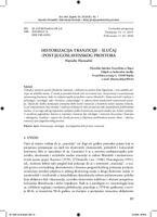 prikaz prve stranice dokumenta Historizacija tranzicije – slučaj (post) jugoslavenskog prostora
